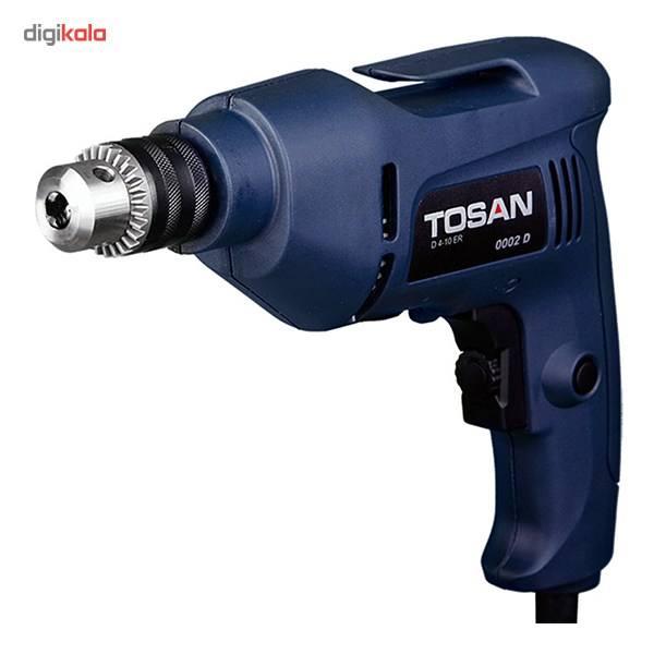 دریل برقی Tosan 0002 D یک دریل خوب برای مصارف خانگی