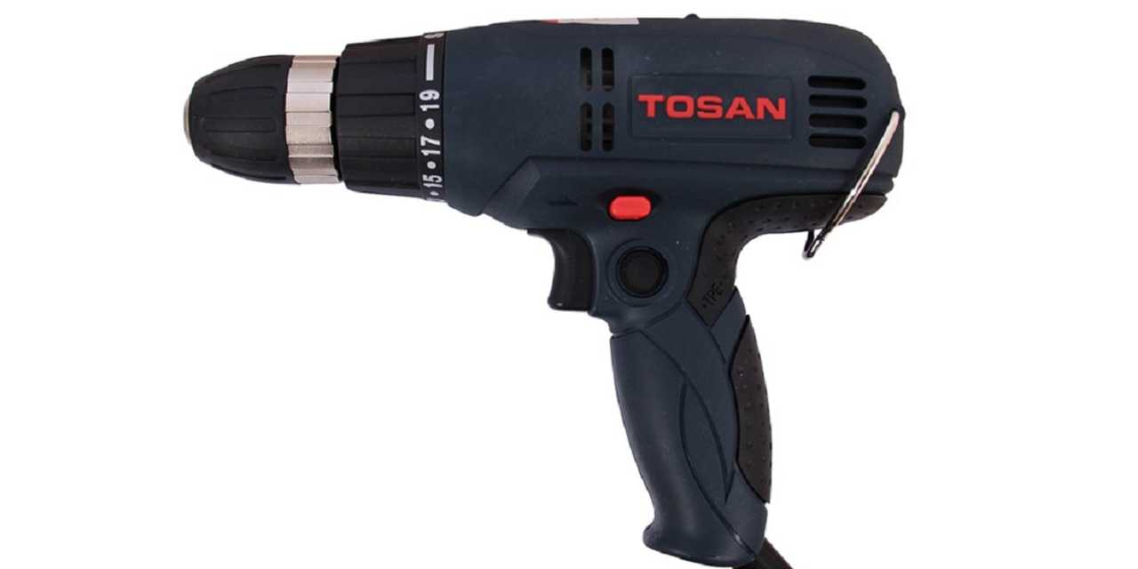 دریل ساده توسن TOSAN 0901S، مناسب کار برای همه افراد، در منزل و امور سبک!