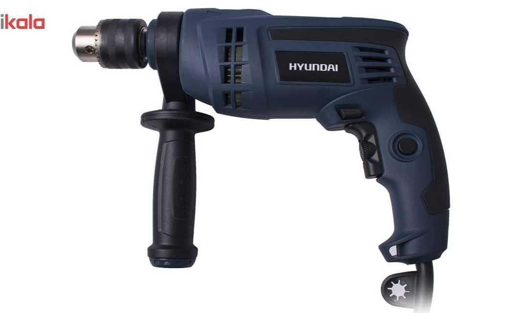 دریل چکشی هیوندای Hyundai HP9013 یک دریل خوش ساخت، برای منزل و کارگاه!