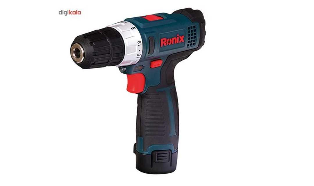 دریل شارژی رونیکس Ronix 8612، خوش ساخت و فول امکانات!