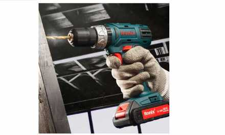 دریل شارژی رونیکس Ronix 8018، زیبا، فول امکانات و مناسب برای کار و منزل!