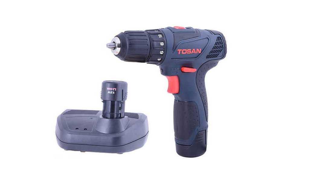 دریل شارژی Tosan 9014 SC PLUS، خوش ساخت و به روز برای منزل و کار!