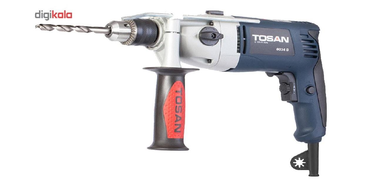 دریل چکشی توسن Tosan 0034DB ، پرقدرت و با امکانات، آماده جهت کار!